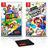 Super Mario 3D World + Bowser's Fury Game Bundle with Super Mario Party - Nintendo Switch