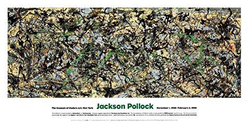 Lucifer von Jackson Pollock Kunstdruck