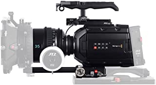 JTZ DP30 Camera Cage Baseplate Rig for Blackmagic URSA Mini 4K 4.6K EF PL Cinema Camera
