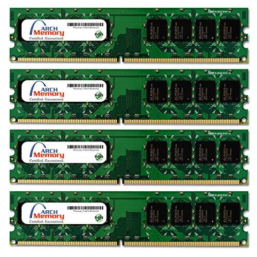 Arch Memory 8 GB (4 x 2 GB) 240-Pin DDR2 UDIMM RAM for Dell OptiPlex 960 MT (Mini Tower)