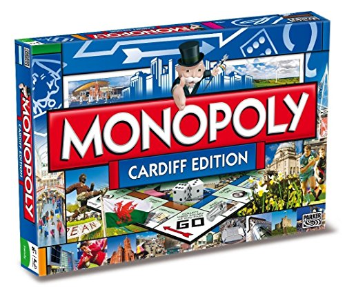 Winning Moves Games Cardiff Monopoly Board Game
