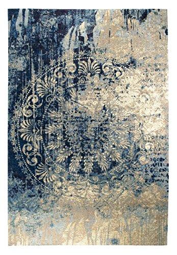 Luxor Living Vintageteppich Barock, Designerteppich, hochwertig, robust, pflegeleicht, Größe:80x150cm