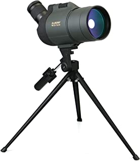 SVBONY SV41 Spotting Scope 25-75x70 Compact and Powerful Mini Mak Telescope for Target Shooting Travel Bird Watching Both ...