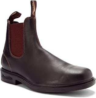 Style 062 - Stout Brown Dress Boot (7 AU wide / 8 US wide)