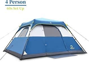 OT QOMOTOP Waterproof Camping Tents, 4/6/8/10 Person...