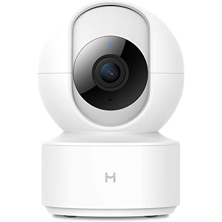 1080P Wireless Smart Home Indoor Baby IP Security Camera IMILAB,2.4Ghz WiFi Surveillance Dome Camera Pet Nanny Monitor with Two-Way Audio,HD Night Vision,Pan/Tilt,Remote View Support Max 256GB SD…