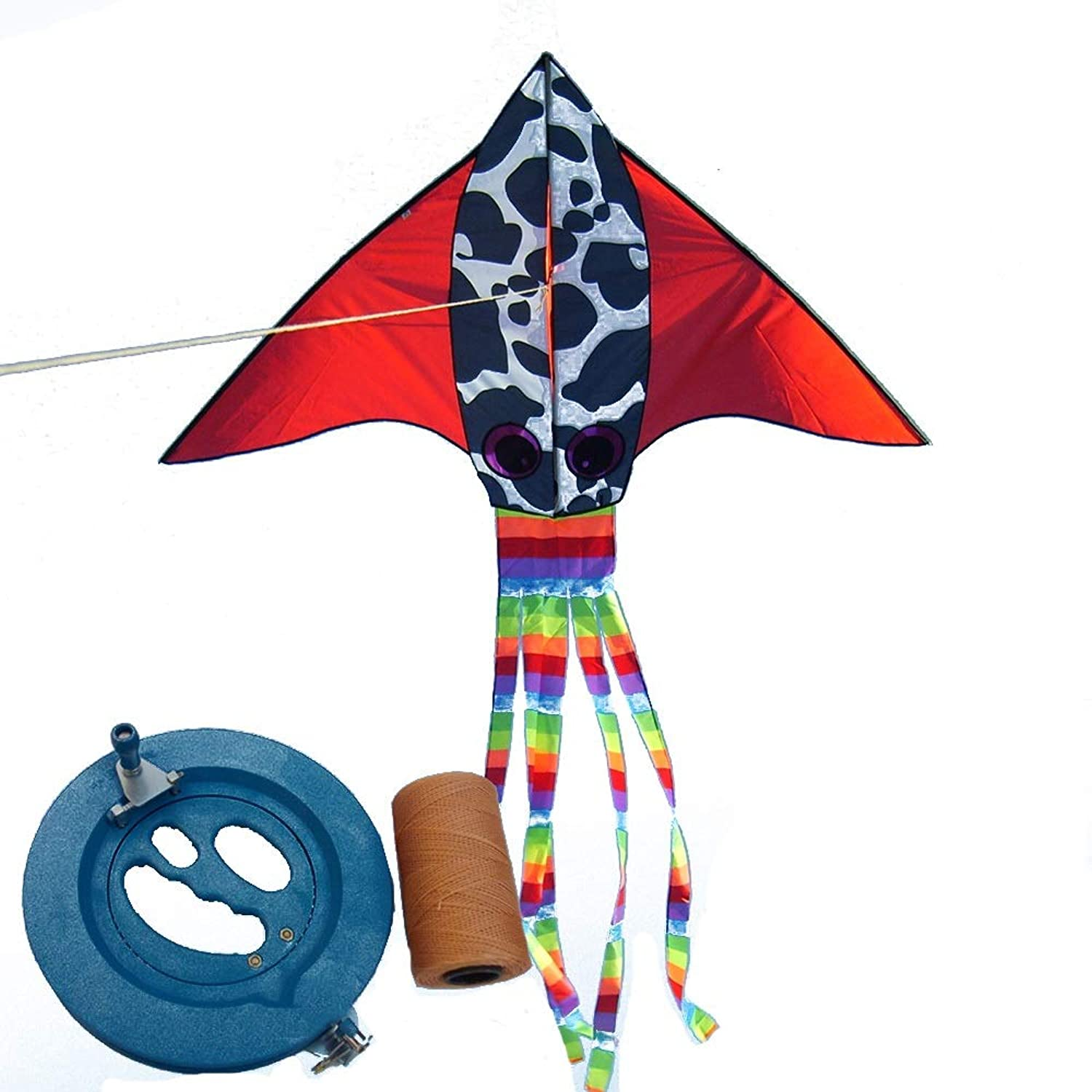 Kite 1.8 M Triangle Adult Flying (four colors) (color   B)