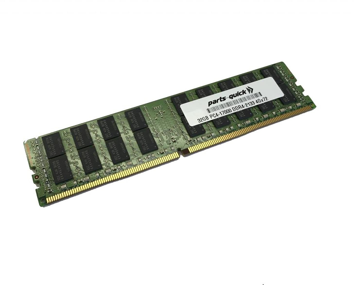 32GB Memory for Dell Precision Workstation 5810 T5810 XL DDR4 PC4-17000 2133 MHz LRDIMM RAM (PARTS-QUICK BRAND)