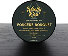 Wholly Kaw Donkey Milk Shaving Soap, Fougere Bouquet