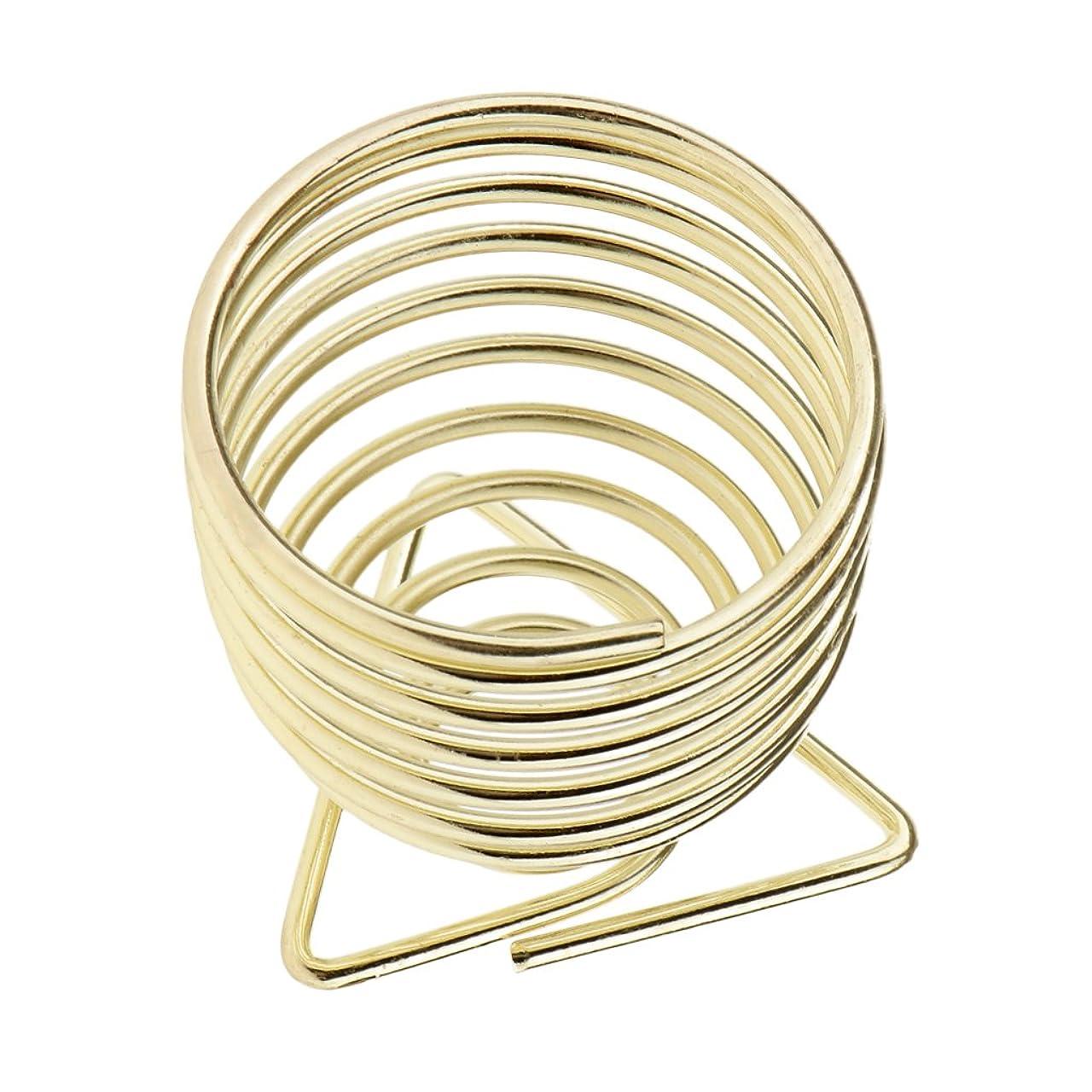生き物ひねくれた気絶させるSharplace スポンジスタンド 化粧用スポンジ置き パフスタンド 乾燥 全2色選択 - ゴールド
