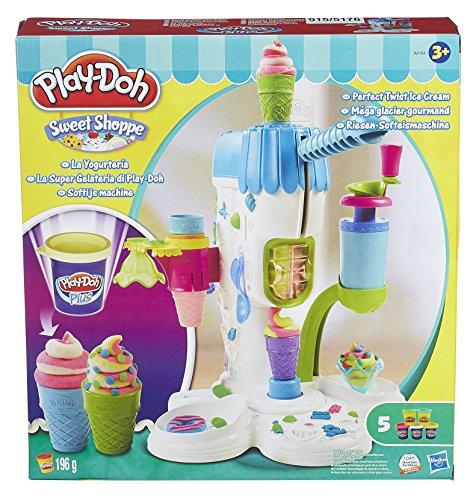 Preisvergleich Produktbild Hasbro A2104E24 Play-Doh - Riesen Softeismaschine,  Knete
