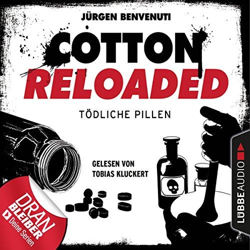 Tödliche Pillen     Cotton Reloaded 38              Autor:                                                                                                                                 Jürgen Benvenuti                               Sprecher:                                                                                                                                 Tobias Kluckert                      Spieldauer: 3 Std. und 9 Min.     64 Bewertungen     Gesamt 4,3
