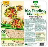 Probios Piadina Mix Legumi Bio Senza Glutine 3 x 60 g - [Confezione da 12 ]...