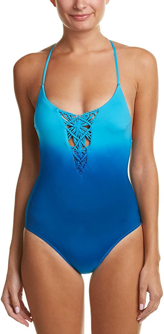 Nanette Lepore Women's Solola Goddess National uniform free shipping Swimsuit Piece Outlet ☆ Free Shipping Macrame One