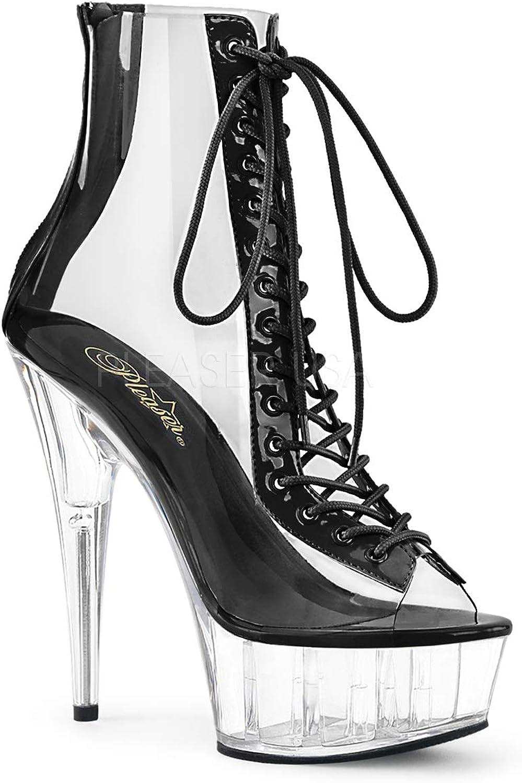 Pleaser Womens DELIGHT-600-34 C-B C Boots