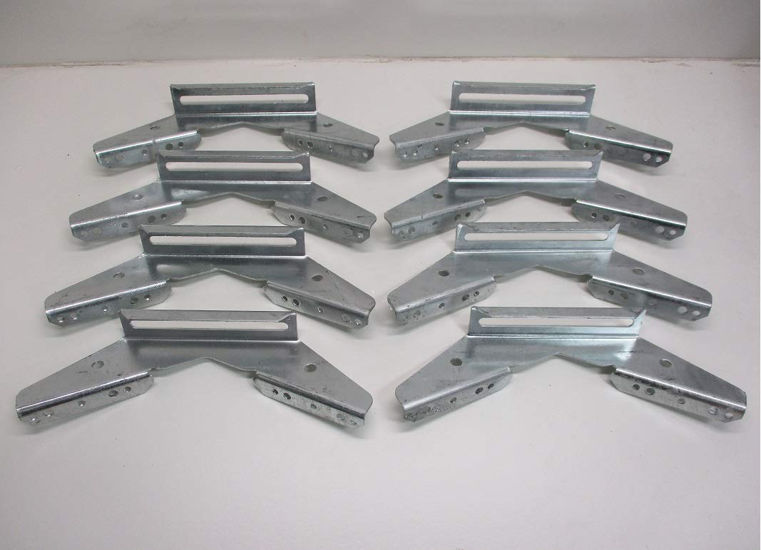 CTW Pontoon Brackets Adjustable Galvanized