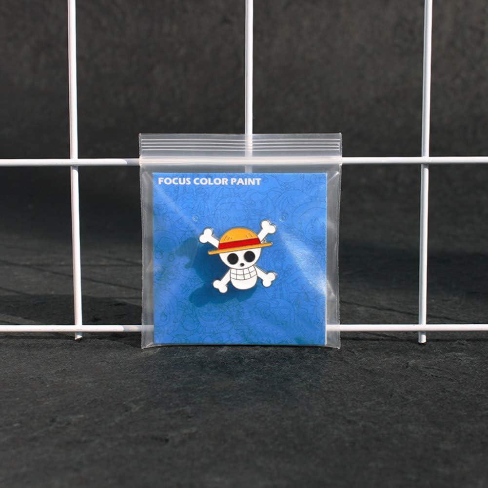 Dacitiery Anime One Piece Pins Broche en m/étal Motif Anime Style 09