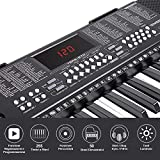 IMG-1 bakaji tastiera musicale pianola elettronica