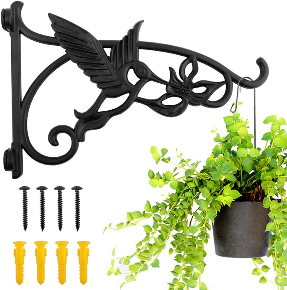 Heavy Duty store Outlet sale feature Hanging Plant Brackets 1pcs Mount Iron Inch Wall 13