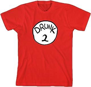 Drunk 2 Funny Costume T-Shirt Adult T-Shirt Tee