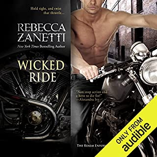 Wicked Ride                   By:                                                                                                                                 Rebecca Zanetti                               Narrated by:                                                                                                                                 Brock Thompson                      Length: 10 hrs and 51 mins     3 ratings     Overall 4.3