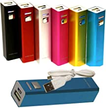 2600mAh Portable External Battery Power Bank Charger for for iPhone 5S, 5C, 5, 4S, 4, 3GS, 3G, Kindle Fire HDX 7