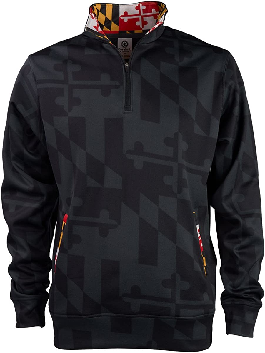Covalent Activewear Maryland Flag Under blast sales Gift Max 79% OFF Swearsh Pullover Souvenir