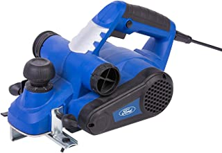 Ford 900 Watts 82mm Planer, Corded Electric 3mm Maximum Adjustable Depth Wood Trimmer with Dual Dust Port, Hand Held Wood ...