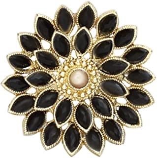 A.R. FASHION Ring For Women Stylish Adjustable 1 Pc - Traditional Ethnic Black Ring