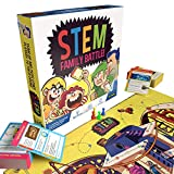 STEM Family Battle - A Family Board Game for Kids and Adults...