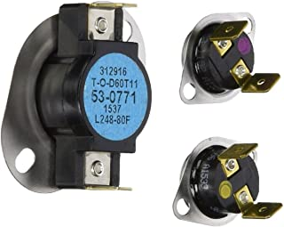 New Replacement Part - Maytag - Clothes Dryer High Limit Thermostat Kit Part # LA-1053