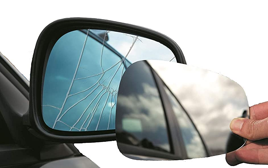 Summit Replacement Mirror Glass (Fits on RHS of Vehicle)
