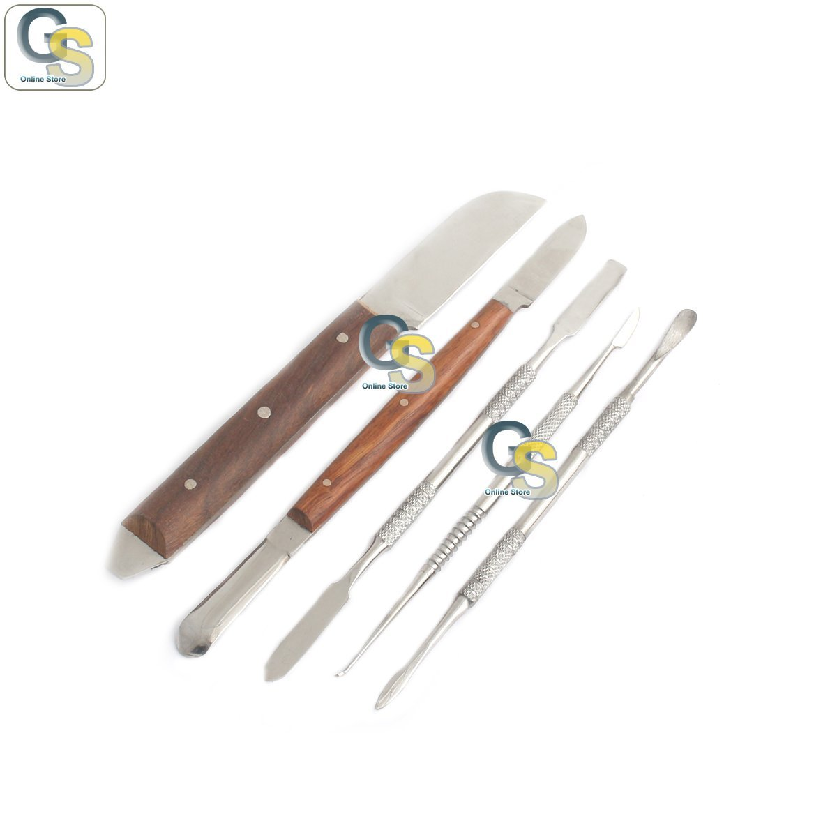 G.S LAB Under blast sales WAXING Instruments Laborator Limited time trial price KIT Stainless Steel