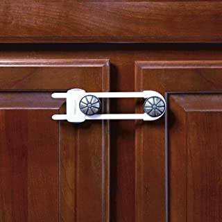 Toddleroo by North States Sliding Cabinet Locks   Keep side by side cabinets safely and securely closed   Works on cabinet...