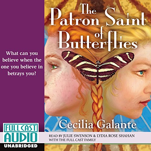 The Patron Saint of Butterflies audiobook cover art