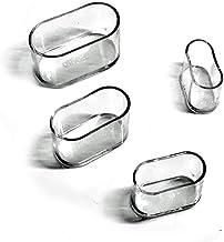 qianger 16 STKS Stoel Leg Caps, Plastic Cover Cap, Stoel Voeten, Meubelinsert, voor Stoel & Tafelvloer Krassen Protectors-...