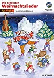Die schönsten Weihnachtslieder, Notenausg. m. Audio-CDs, Für Violine, m. Audio-CD: sehr leicht bearbeitet. 1-2 Violinen. Ausgabe mit CD.