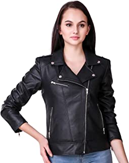 Leather Retail® Faux Leather Jacket for Roadies For Women's and Girls Roadies