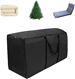 Christmas Tree Storage Bag Heavy Duty Extra Large Storage Bag with Durable Reinforced Handles & Dual Zipper, 173x51x76CM M...