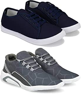 Zenwear Combo Pack of 2, Casual, Sneaker and Loafer Shoes for Men