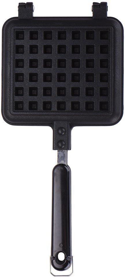 OFKPO Moldes para Gofres,Moldes de Waffle de Aleación de Aluminio para Cocina Hornear