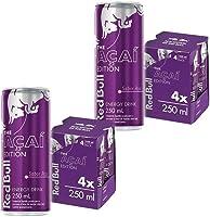 Energético Red Bull Energy Drink, Açaí, 250 ml (24 latas)