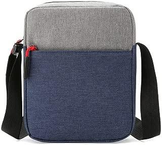 feelingood Men Waterproof Shoulder Bag Pockets Anti Theft Large Capacity Outdoor Messenger Bag