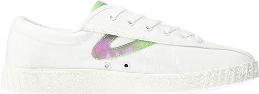Vintage White/Pink/Blue/Green
