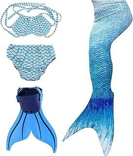comprar comparacion SPEEDEVE Cola de Sirena para Niñas con Aleta para Natación y Cosplay
