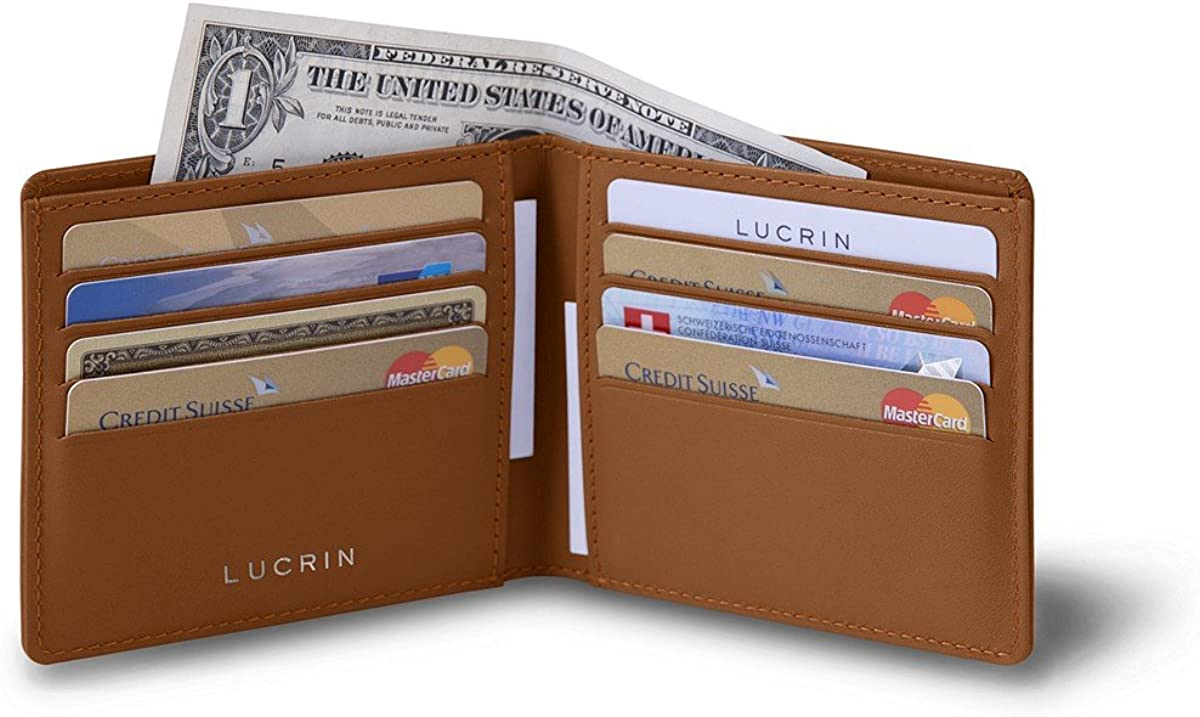 Lucrin - Classic wallet - Smooth Leather