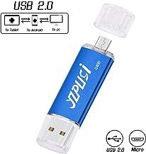 YZPUSI 64gb Memoria USB, 2 en 1 USB 2.0 Doble Transforma Pendrive para PC y Android con OTG Micro USB, Memoria USB Compatible con Smartphones y Tableta Memory Externa