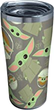 Tervis Star Wars - The Mandalorian Child Pattern Insulated Tumbler, 20oz, Stainless Steel