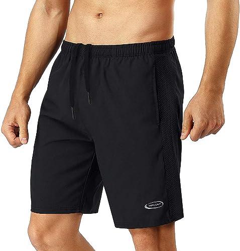 MOBIUSPHY Short Sport Homme Shorts de Sport Running Shorts Gym Football Short Jogging Hommes Pantalons Tennis Fitness...
