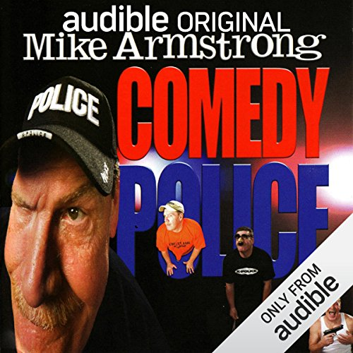 Comedy Police audiobook cover art